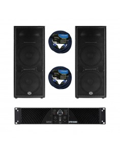 Pack Audio Pasive 2 (2.000W)