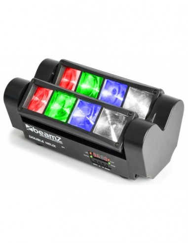 Beamz MHL820 Doble Helix 8x 3W RGBW...