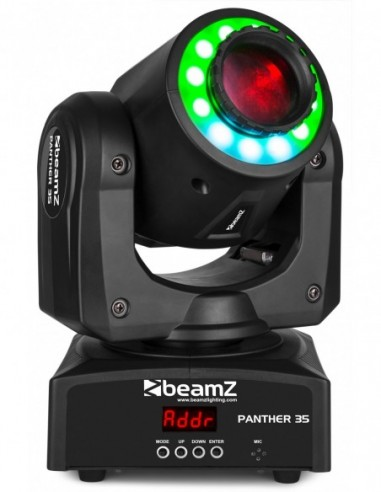 Beamz Panther 35 Led Spot Moving Head...