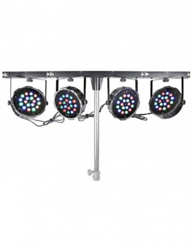 Beamz PARBAR 4 Vias 18x 1W RGB LEDs DMX