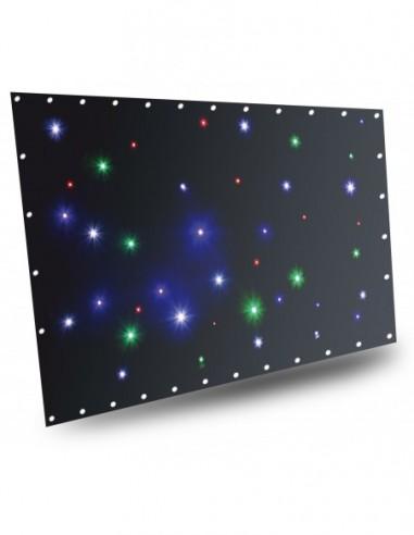 Beamz Cortina de estrellas LED36 RGBW...
