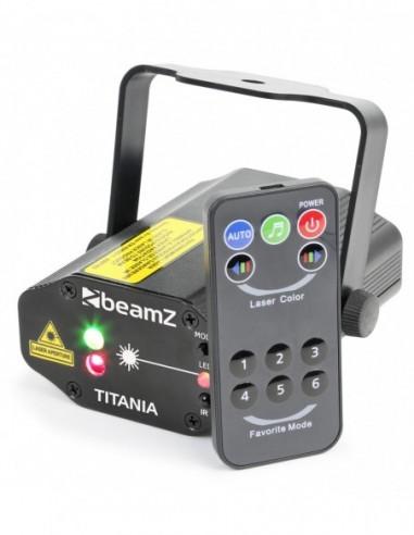 Beamz Titania Doble Laser 200mW RG...