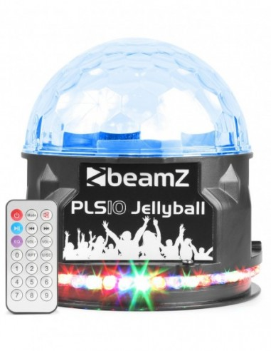 Beamz PLS10 Jellyball altavoz y BT
