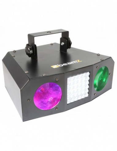 Beamz Urano LED Doble Moonflower con...