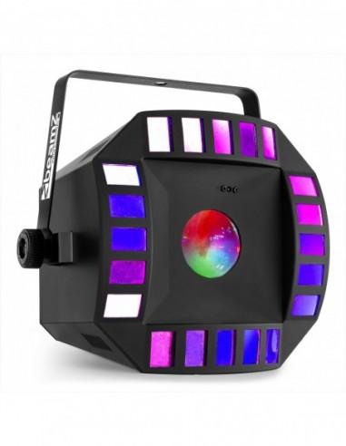 Beamz Cub4 II LED 2 x 10W Quad + 64...