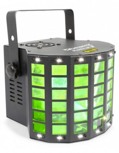 Beamz Radical II Derby LED con laser...