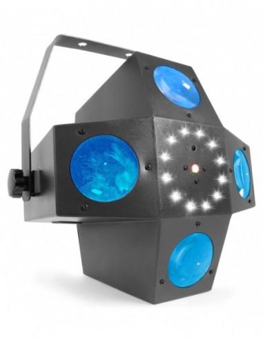 Beamz Multitrix LED con laser y strobo