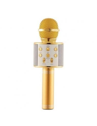 Max KM01 Micrófono de Karaoke con...