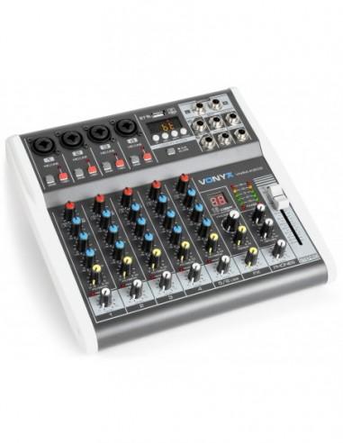 Vonyx VMM-K602 Mezclador de directo 6...