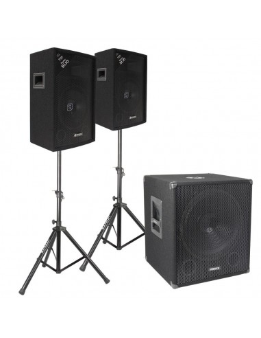Pack completo de audio Vonyx 600W RMS