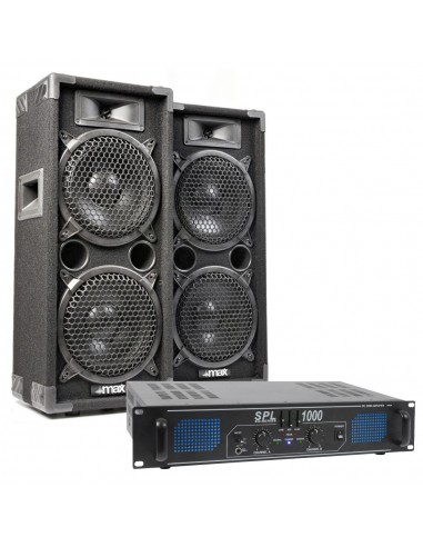 Pack completo de audio Max 500W RMS