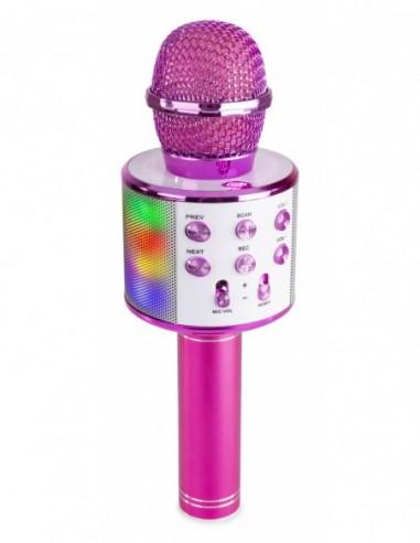 MAX KM15P Micrófono de Karaoke con...