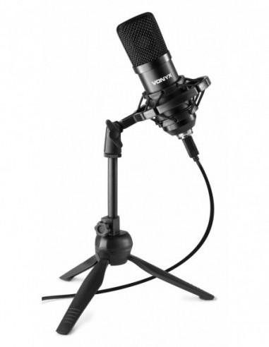Vonyx CM300B Micrófono de estudio USB...