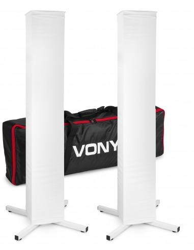 Vonyx DJP165 Set de Pedestal DJ con...