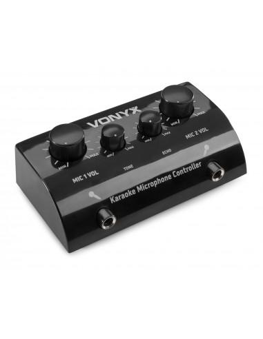 Vonyx AV430B Controlador micrófonos...