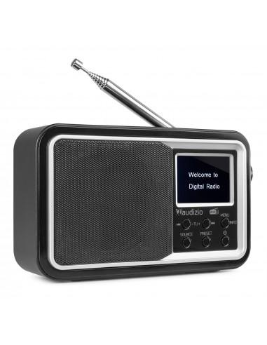 Audizio Parma Radio Portátil DAB+ Negro
