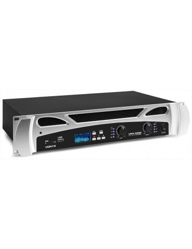 Vonyx VPA1500 PA Amplifier 2x 750W...