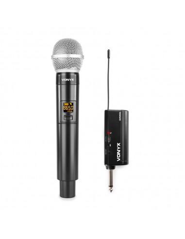 Vonyx Micrófono inalámbrico WM55...