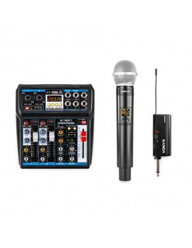 Vonyx Micrófono inalámbrico WM55 +...