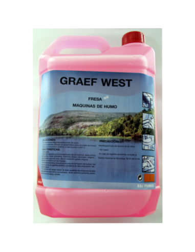 GRAEF WEST Liquido de humo...